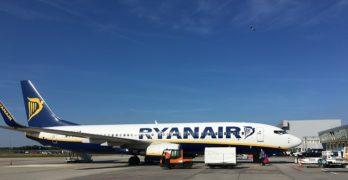 Ryanair toont reizigers video over Eindhoven