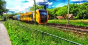 Plan voor treinstation nabij Eindhoven Airport