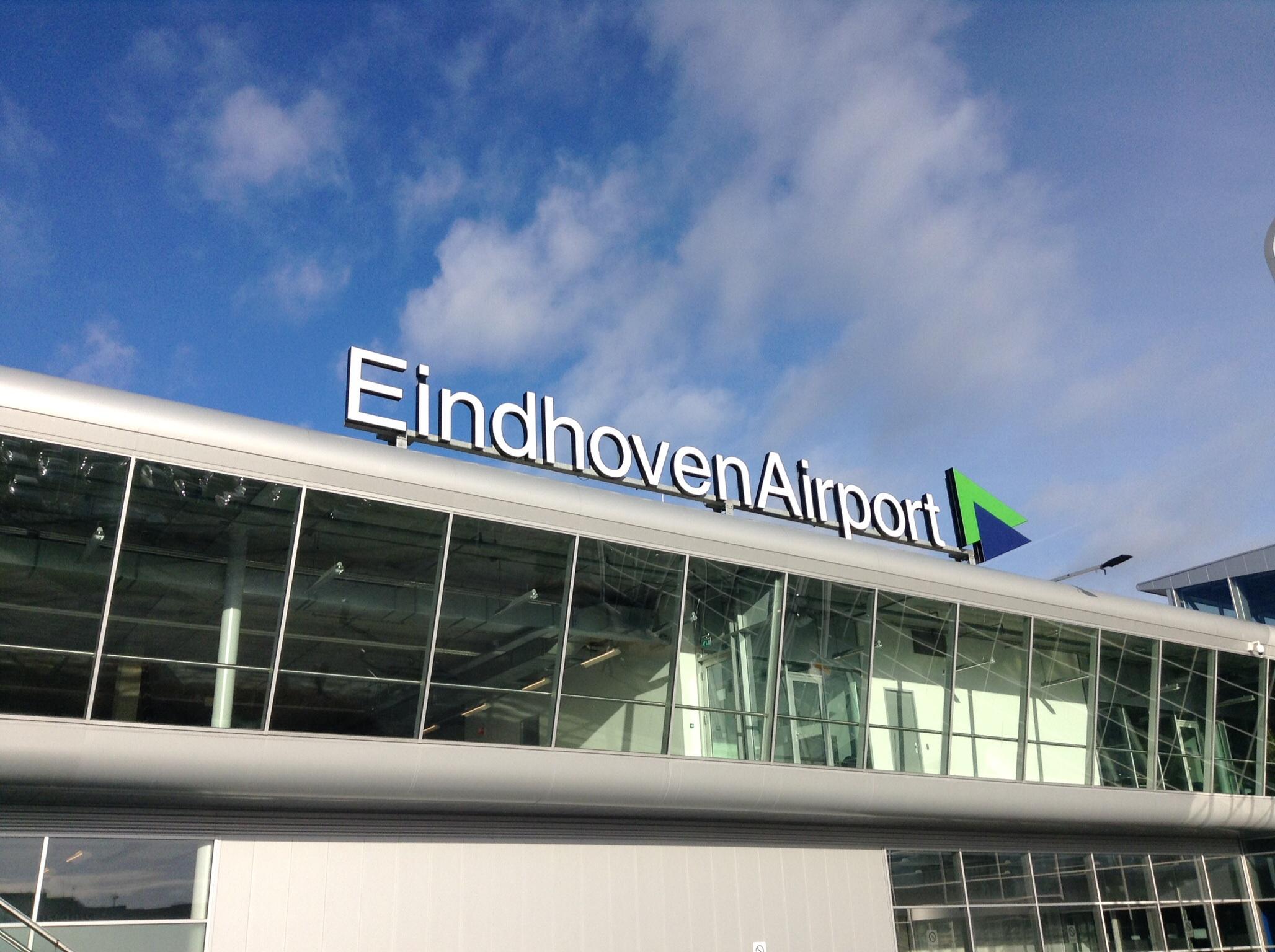 Red Dot Award vertrekgebied Eindhoven Airport