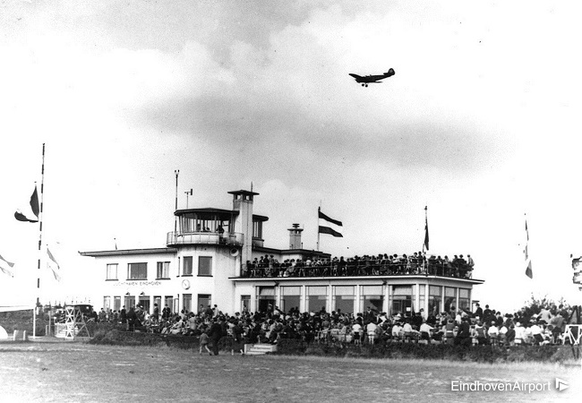 Oud Terminalgebouw Eindhoven Airport - 1934