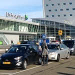 Naar de luchthaven