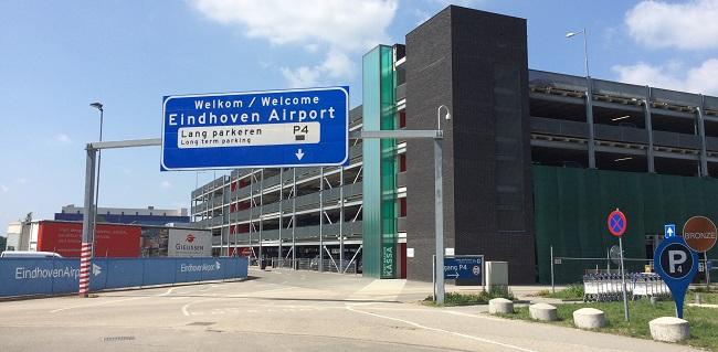 p4 parkeren luchthaven eindhoven