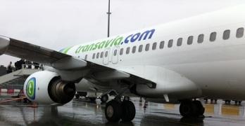 Vliegen Transavia in Eindhoven