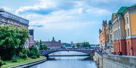 Vliegen naar Stockholm