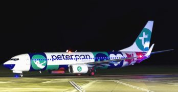 Transavia presenteert Peter Pan Boeing