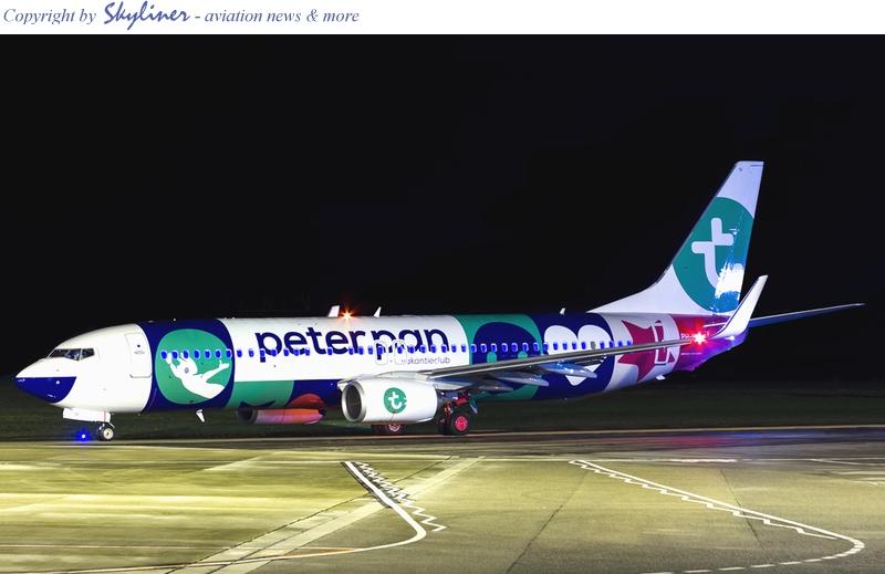 Vliegtuig Transavia