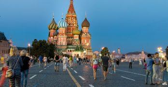 Nieuwe bestemming: Moskou, de hoofdstad van Rusland
